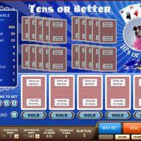 Видеопокер Tens or Better: основные понятия и правила игры