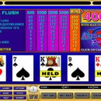Стратегия игры в видеопокер — Deuces Wild (Дикие двойки)