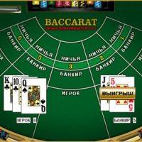 Базовая тактика игры в баккара