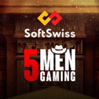 5Men Gaming увеличивает игровой портфель SoftSwiss
