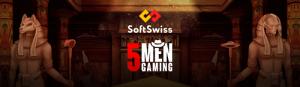 0405-10 5Men Gaming увеличивает игровой портфель SoftSwiss
